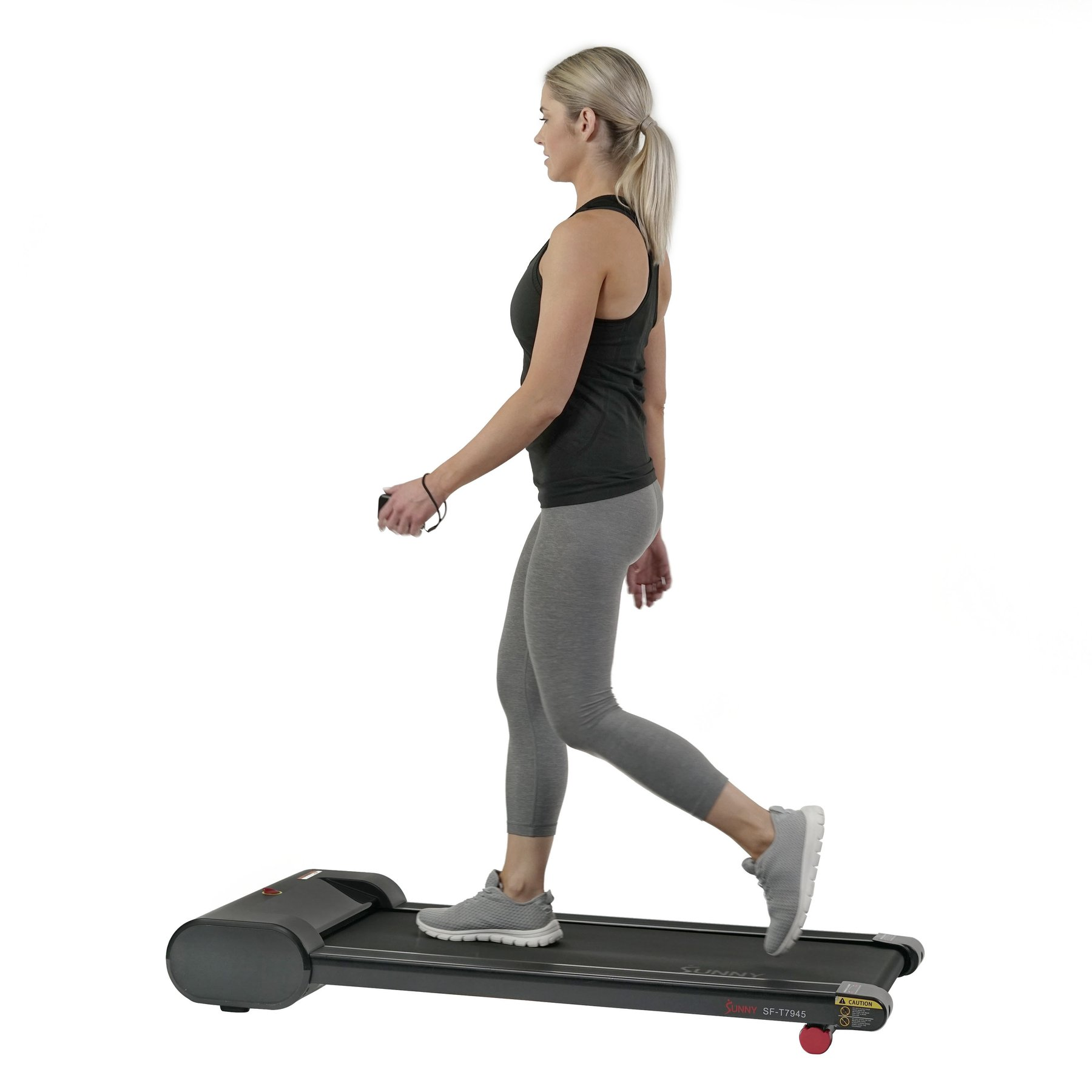 SUNNY WALKSTATION SLIM FLAT TREADMILL FOR UNDER DESK AND HOME